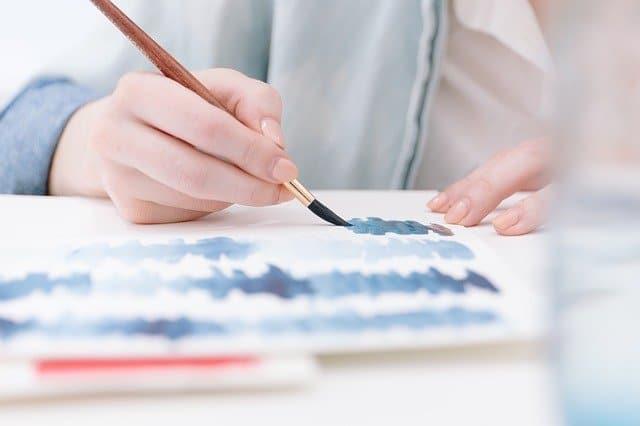 Une peinture peinte à la main pour votre décoration