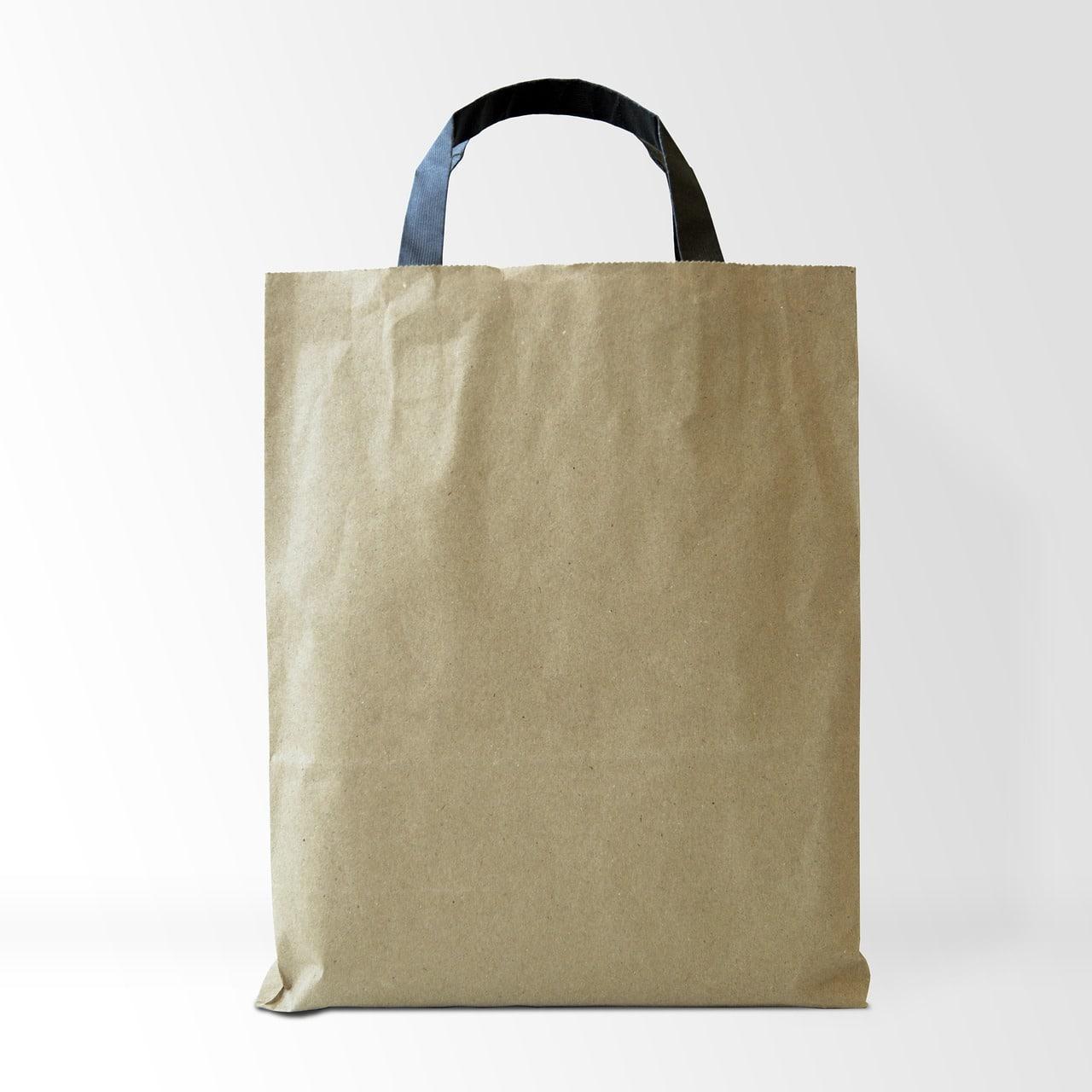 fabriquer un sac en papier kraft